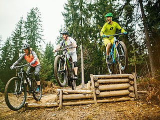 areaone Mountainbike Skill Center Villach – Kumitzberg